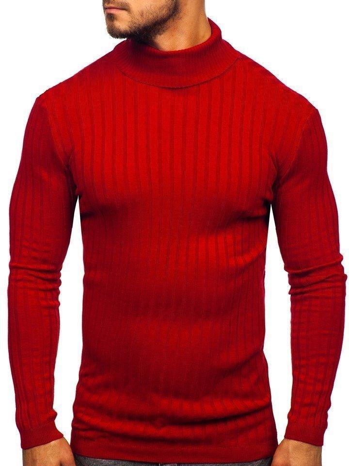 czerwony golf
