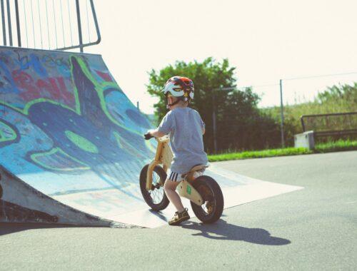 Rowerek biegowy - jak spędzić czas z dzieckiem